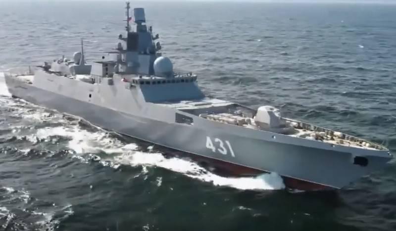 フリゲート艦のカサトノフ提督は次のテスト段階に入った