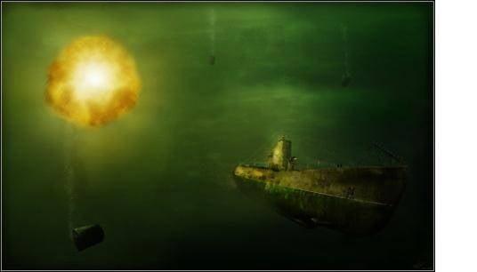 잠수함 방어 : 잠수함에 대한 배. 무기와 전술