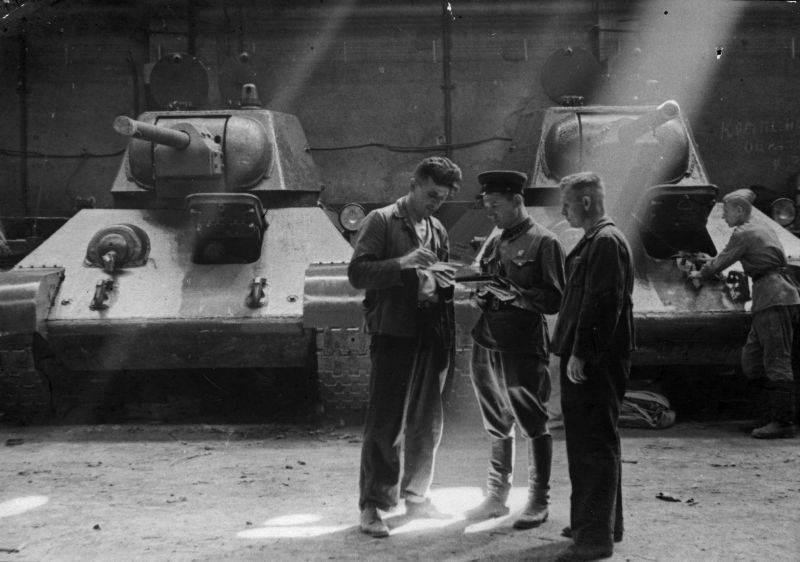 Guerres technologiques: soudage d'armures soviétiques
