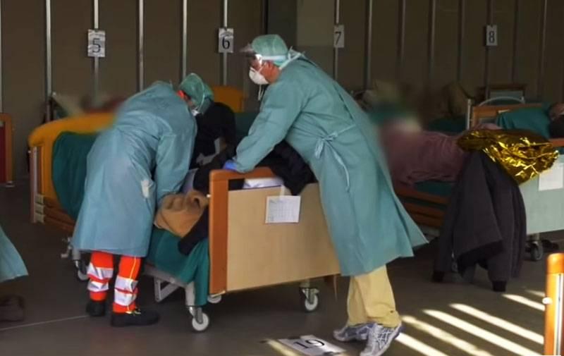 イタリアのメディアは、イタリアにおけるコロナウイルスのピーク発生率が過ぎたことを示唆しました