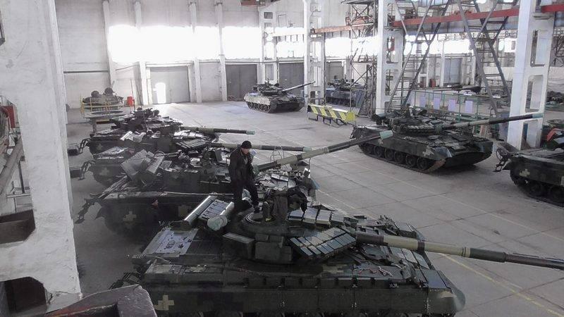 ВСУ получили партию модернизированных танков