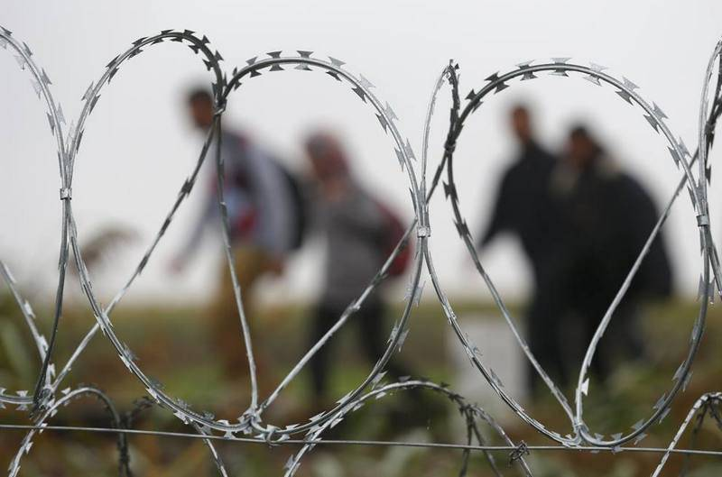 Entrance to seven cities of Georgia blocked by barbed wire checkpoints