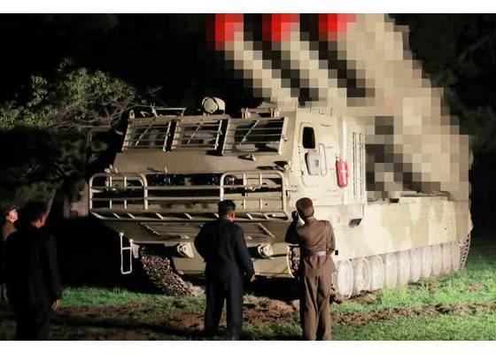 КНДР продолжает испытания 600-мм РСЗО