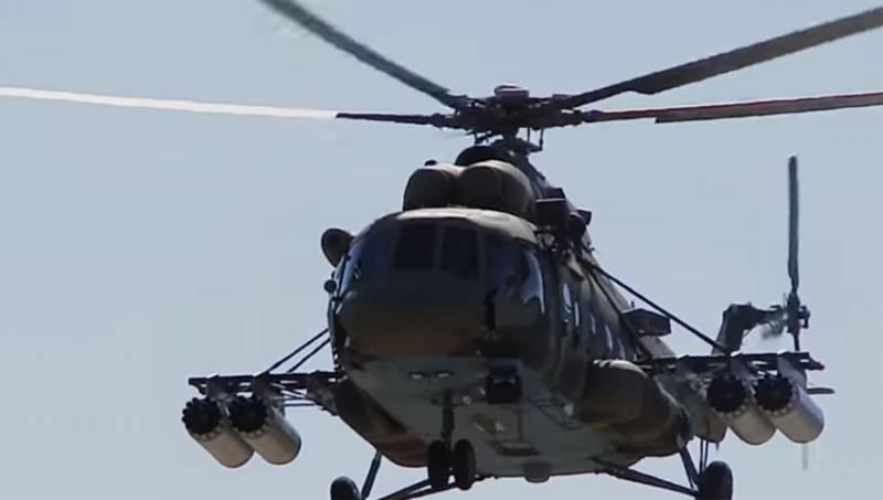 Появились некоторые подробности инцидента с боевым вертолётом Ми-8 в Забайкалье