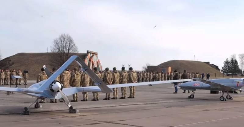 В Турции: Украинские войска серьёзно усилились с приобретением БПЛА Bayraktar TB2