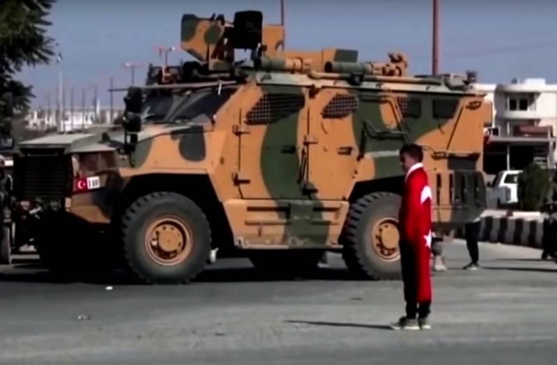 Сирия, 26 марта: турецкие военные приступили к строительству укреплённого пункта близ Аль-Кафры