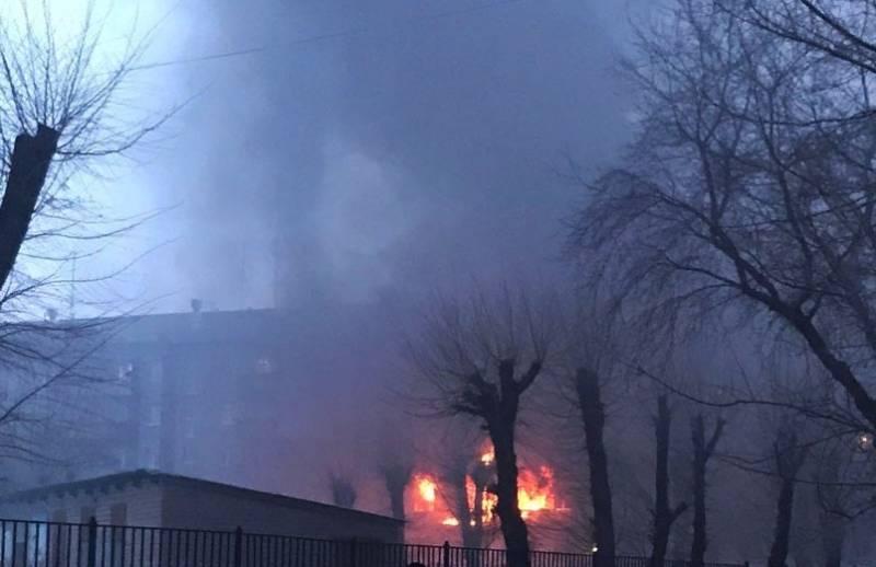Взрыв прогремел в многоэтажке Магнитогорска