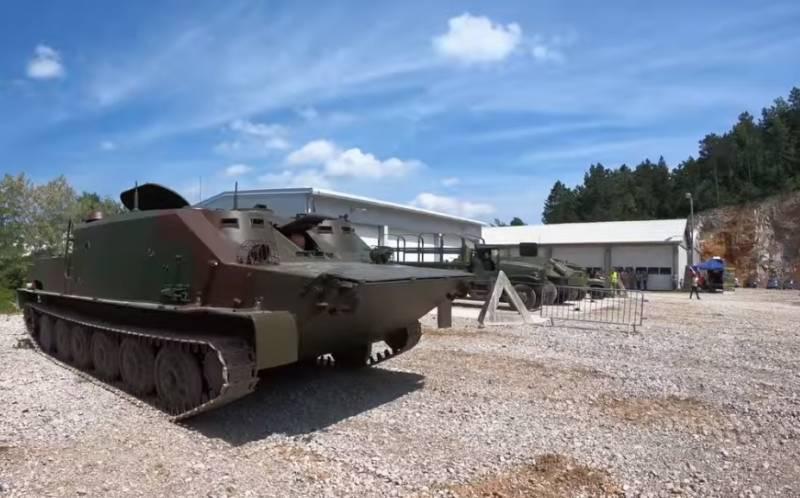 «Взамен украинских БТР-50»: в Индонезии объяснили потребность в российских БТ-3Ф