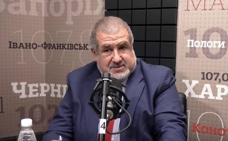 "Chubarov canceled the widely advertised ""campaign of the Tatars in the Crimea"""