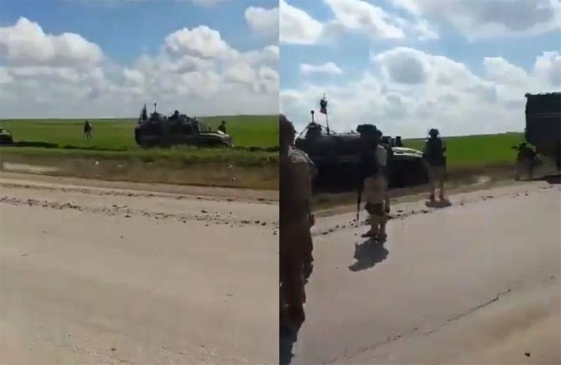 Ridiculó el barro sirio atascado en los vehículos blindados de las Fuerzas Armadas rusas, recordó un caso similar con el MRAP de EE. UU.