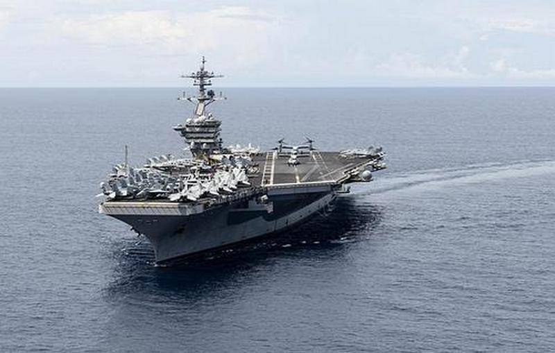 "The aircraft carrier ""Theodore Roosevelt"" will continue to perform combat missions"