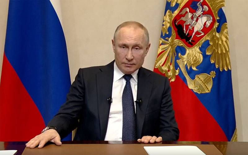 Today Putin will again address the nation