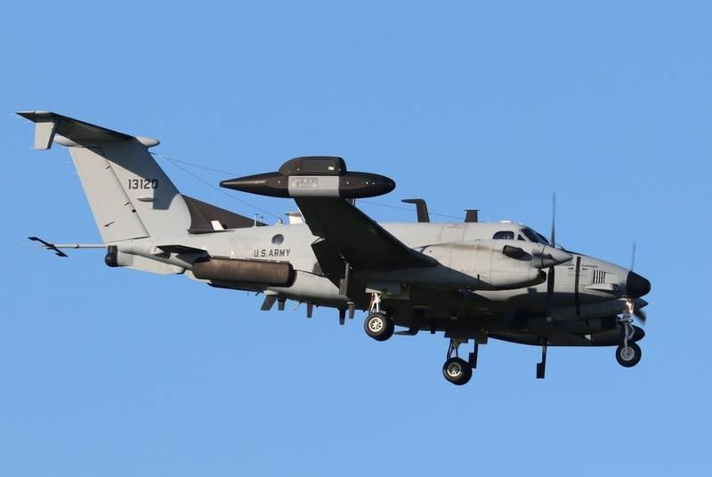 USA deployed RC-12X aircraft in Lithuania to track Kaliningrad