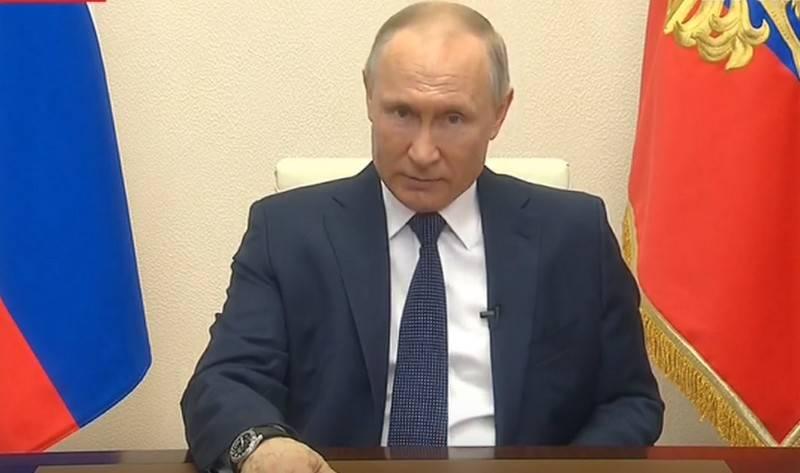 व्लादिमीर पुतिन ने एक हफ्ते में दूसरी बार रूस का रुख किया