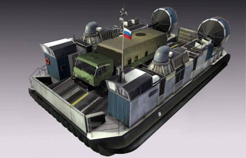 「ハスキー10」。 新しいロシアのホバークラフト