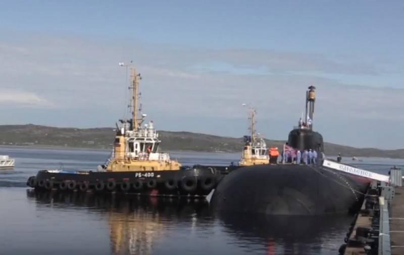 Source: Northern Fleet Smolensk crew quarantined