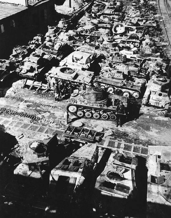 赤い軍隊のための金床。 ドイツ軍捕獲戦車のテスト