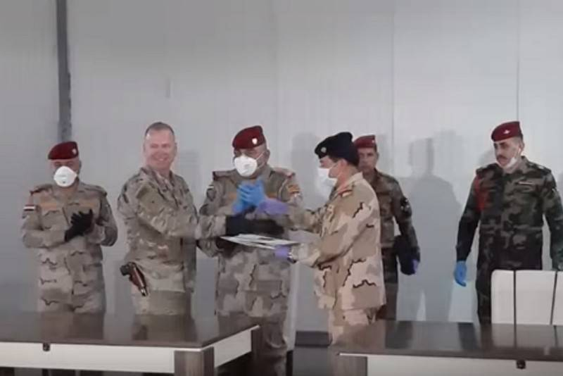 Another US military base transferred to Iraqi military
