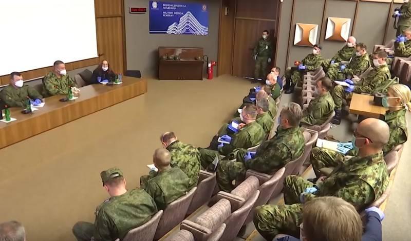 Sırbistan'daki Rus uzmanlar yardım alanlarını belirlediler