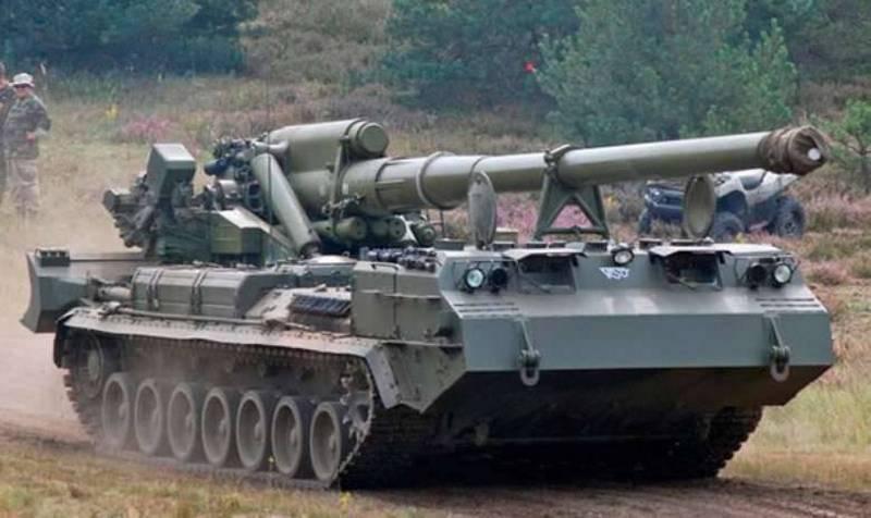"""Trabajos en la modernización de cañones autopropulsados 2S7M """"Malka"""" completado"""