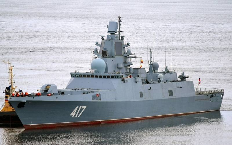 The frigate Admiral Gorshkov is being prepared for testing the hypersonic Zircon