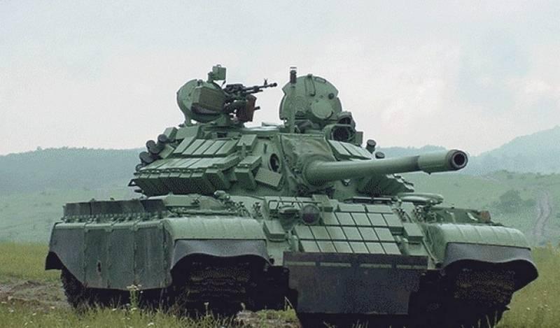 塞尔维亚向巴基斯坦交付了一批现代化的T-55坦克