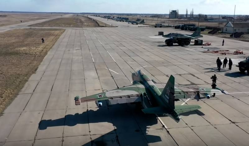 The upgraded attack aircraft Su-25SM3 entered the air regiment in the Kuban