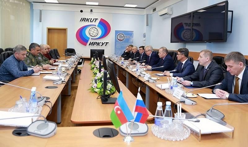 Rússia confirmou disponibilidade para fornecer aviões de combate ao Azerbaijão