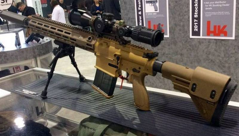 The U.S. Army received the first batch of new sniper rifles M110A1