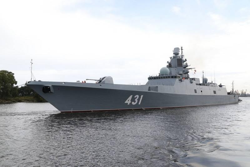 フリゲート提督カサトノフはテストの最終段階に達しました
