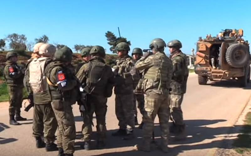 Russia and Turkey hold third joint patrol of M4 highway in Idlib