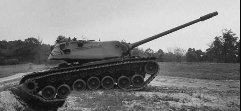 M103। आखिरी अमेरिकी भारी टैंक