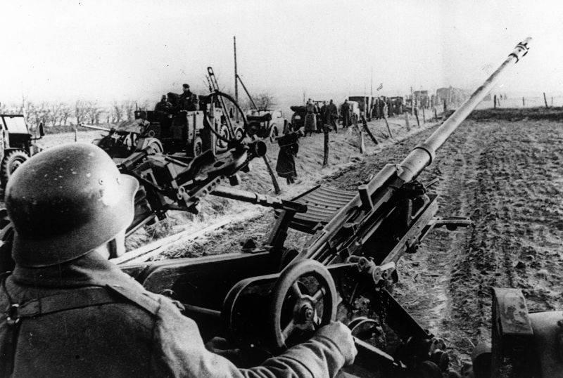 """Teachings on the Weser."" How Hitler captured Denmark and Norway"