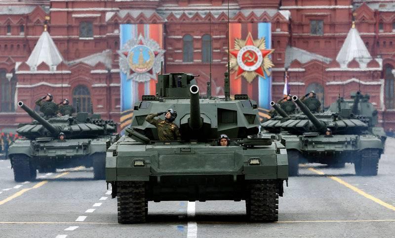 UVZ: I carri armati che partecipano alla parata del Giorno della Vittoria sono protetti dai virus