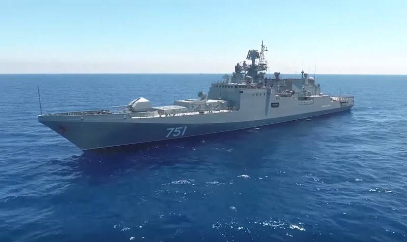 Russia returns two frigates from the Mediterranean Sea at once