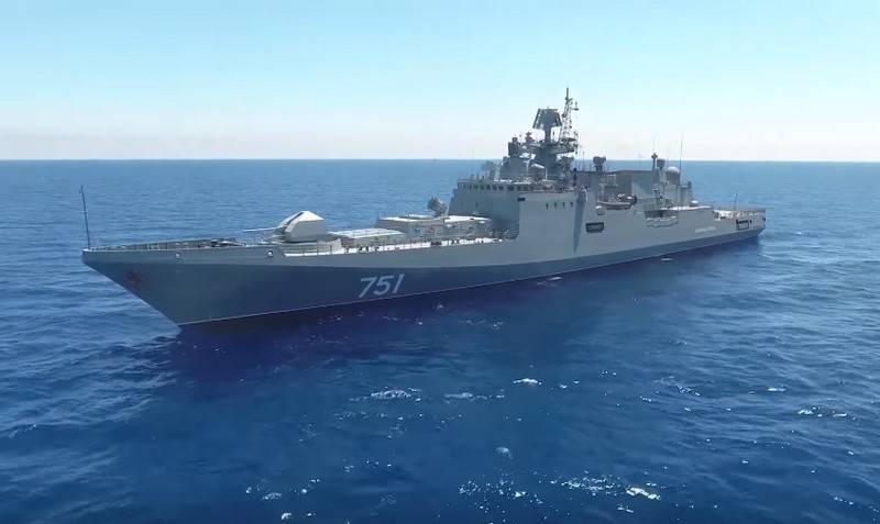俄罗斯立即从地中海退回两艘护卫舰