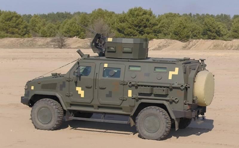 """Autoblindata ucraina """"Kozak-2M1"""" adottata dalle forze armate"""