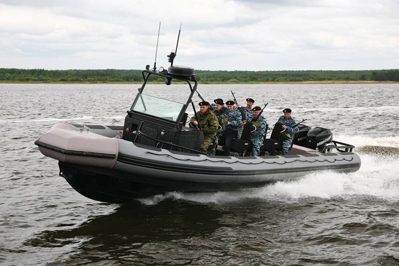 Russia began deliveries of high-speed assault boats to one of the African countries
