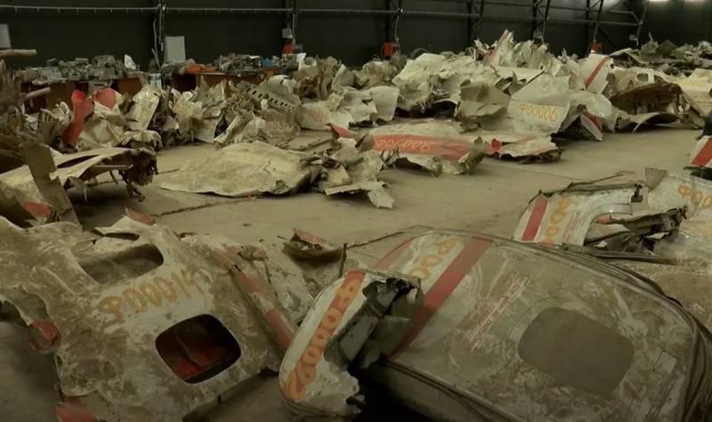 La Pologne a demandé la restitution de l'épave de l'avion Kaczynski