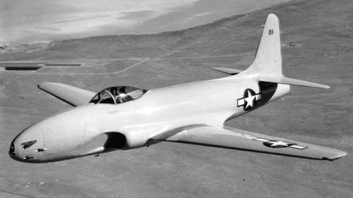 How the Lockheed P-80 fighter was created