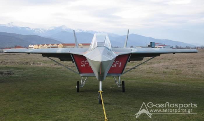 SF1 Archon。 愛好家のための自家製の戦闘機