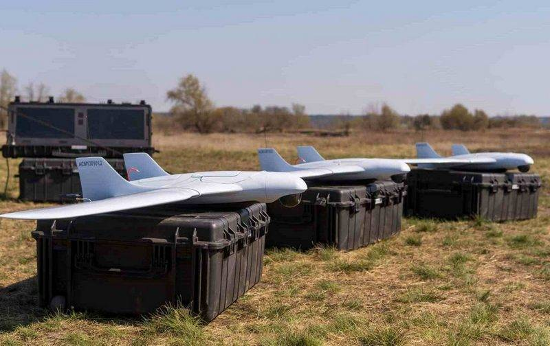 "Unmanned reconnaissance complex A1-SM ""Fury"" adopted by the Armed Forces"