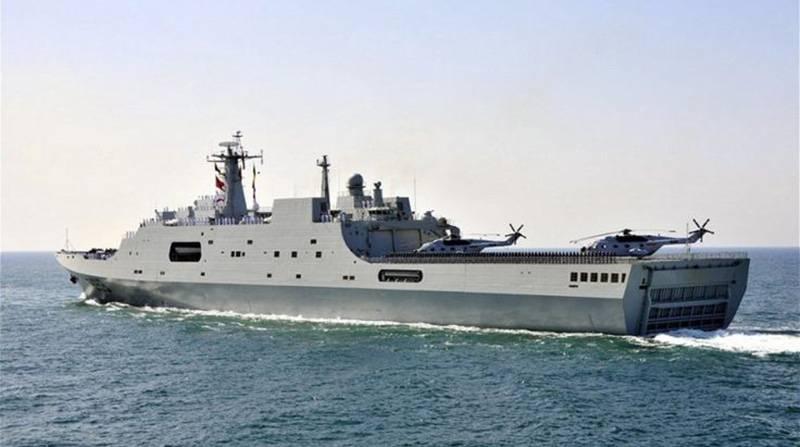 러시아 해군을위한 보편적 인 상륙 선 건설