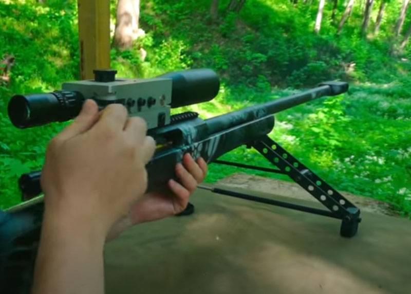 """Die britische Presse schätzte das russische Scharfschützengewehr SVLK-14C """"Twilight"""""""
