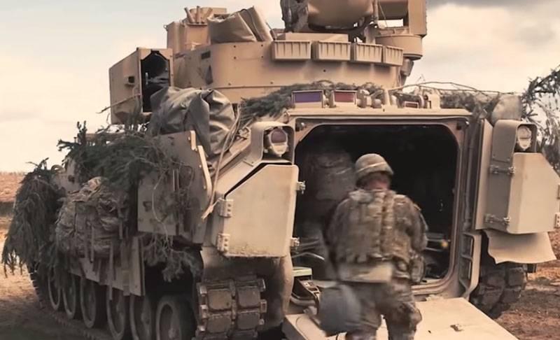 Das Projekt des neuen amerikanischen Infanterie-Kampffahrzeugs ist in erster Linie für das europäische Theater bestimmt