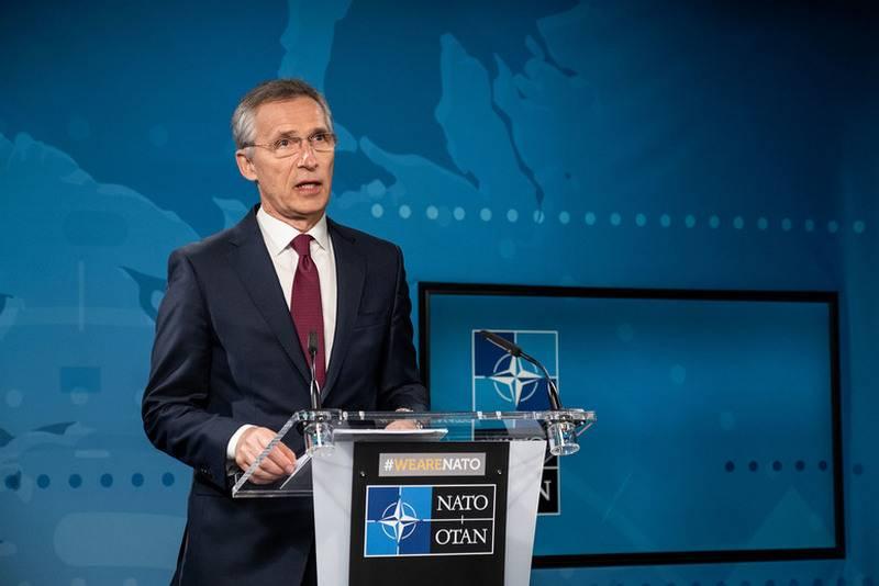"""北约秘书长承诺尽管冠状病毒大流行也将""""遏制俄罗斯"""""""