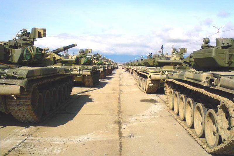 The first T-90A will go for modernization from Abkhazia