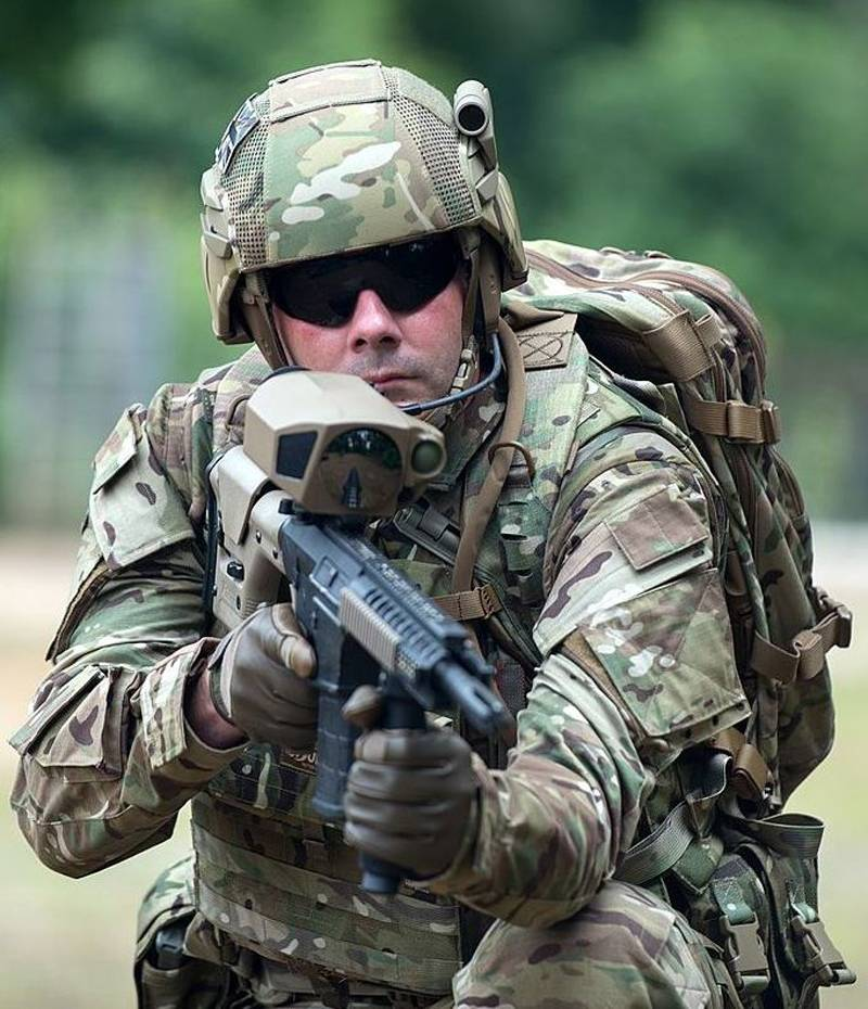 Modern soldier by vocation. Technological advances to help light infantry