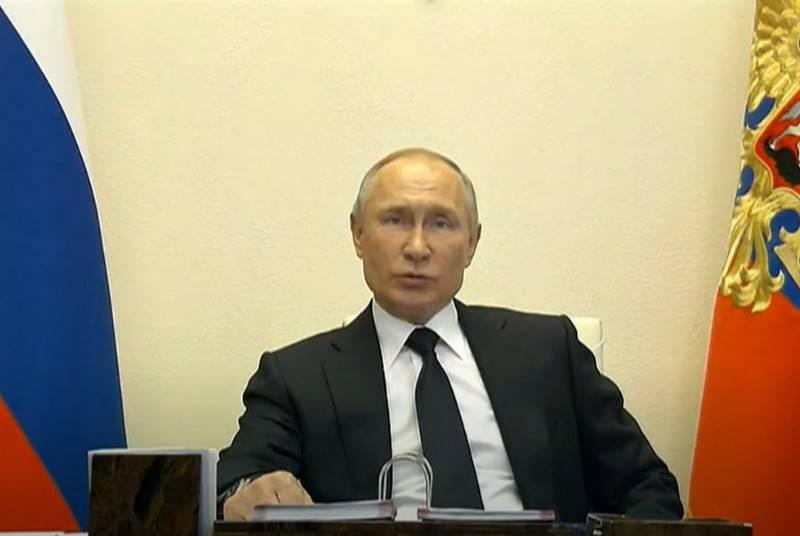 弗拉基米尔·普京决定推迟胜利大游行