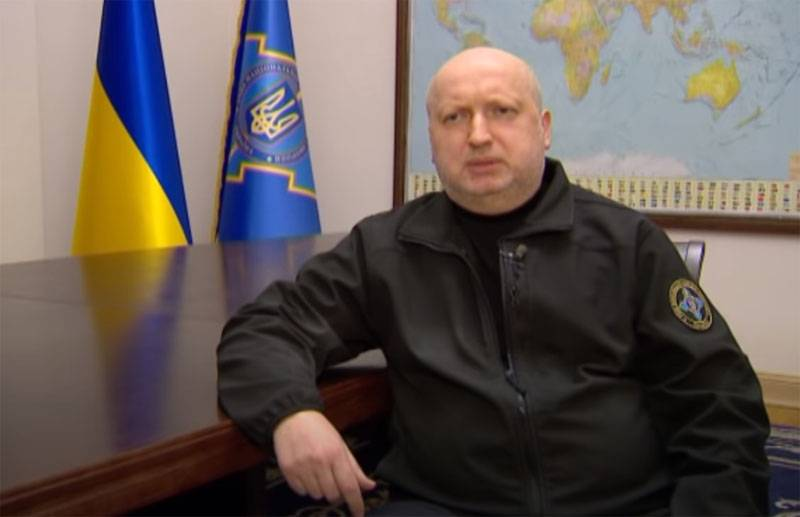 "Turchinov said that he was behind the creation of the ""missile shield"" of Ukraine"
